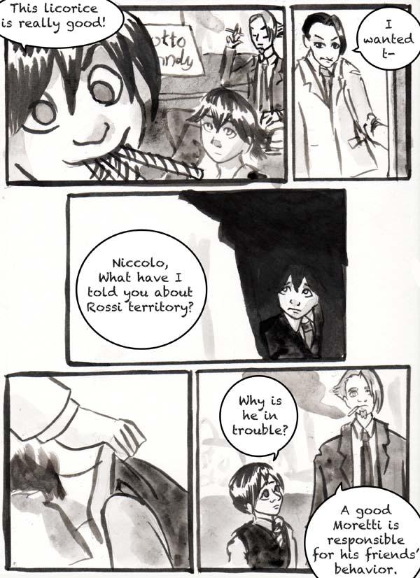 A Boy is Scared
