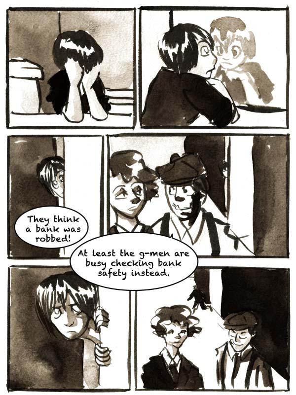 A Boy Eavesdrops