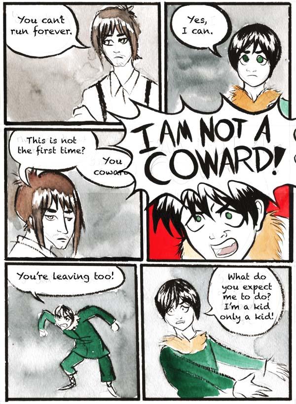 The Boy is No Coward